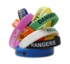 Click to view the details of Silicone Bracelet Screen Print