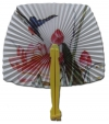 Blossom Oriental Paper Fan-Click to Zoom